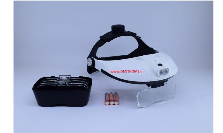 HEADBAND MAGNIFIER 1-6X MAGNIFYING GLASS 2 WAY MG-81001H 1